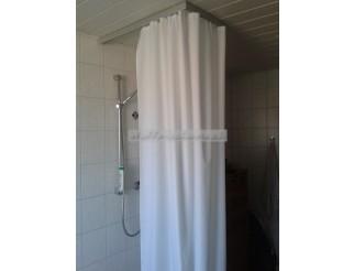 Duschvorhang 3,0m x 2,40m BxH mit Oesen