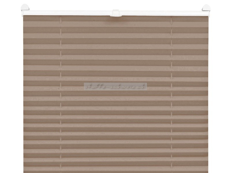 easyfix plissee mit 2 bedienschienen 60 x 130. Black Bedroom Furniture Sets. Home Design Ideas